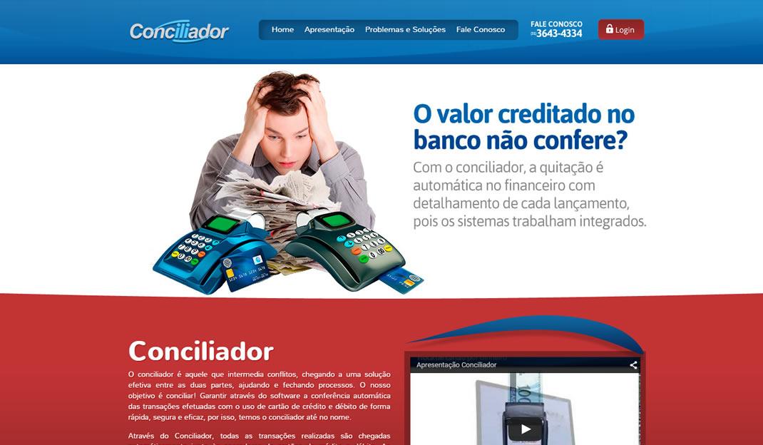 Site Conciliador Web